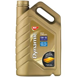 Mol Dynamic Gold Longlife 5W-30 (4 l)